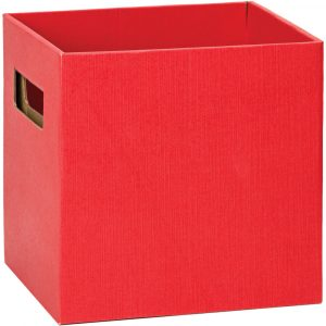 Florist Sundries and Craft Supplies - Red Cube Gift Flower Delivery Box