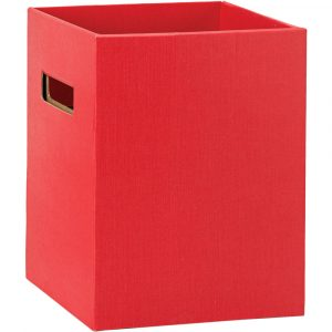 Florist Sundries and Craft Supplies - Tall Red Gift Flower Delivery Box