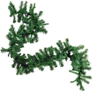 Trade Only Christmas Florist Sundries and Shop Decorations - Extra Long Luxury Faux Spruce Festive Garland