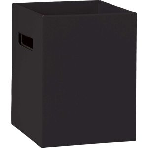 Florist Sundries and Craft Supplies - Tall Black Gift Flower Delivery Box