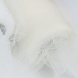 Trade Only Florist Sundries and Wholesale Supplies - Ivory Fineweave Tulle