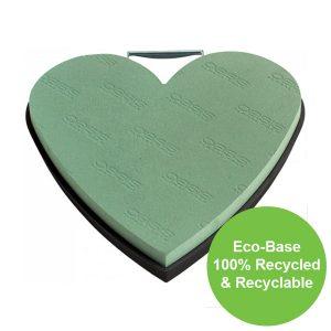 33cm (13″) OASIS® NAYLORBASE® Eco-Base Solid Heart