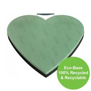 43cm (17″) OASIS® NAYLORBASE® Eco-Base Solid Heart