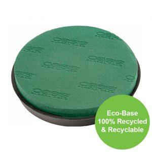 23cm (9″) Dia OASIS® NAYLORBASE® Eco-Base Posy Pad