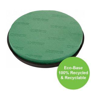 31cm (12″) Dia OASIS® NAYLORBASE® Eco-Base Posy Pad