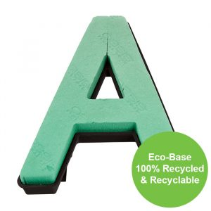 """Florist Sundries - """"A"""" OASIS ® NAYLORBASE ® Eco-Base Quick Clip Letters"""