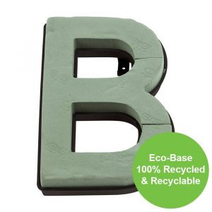 """Florist Sundries - """"B"""" OASIS ® NAYLORBASE ® Quick Eco-Base Clip Letters"""