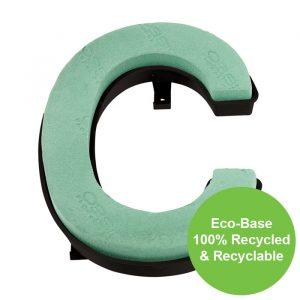 "Florist Sundries - ""C"" OASIS ® NAYLORBASE ® Quick Eco-Base Clip Letters"