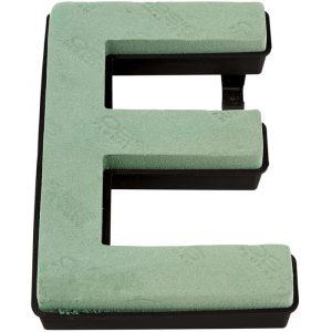 "Florist Sundries - ""E"" OASIS ® NAYLORBASE ® Quick Eco-Base Clip Letters"