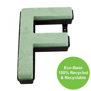 """Florist Sundries - """"F"""" OASIS ® NAYLORBASE ® Quick Eco-Base Clip Letters"""