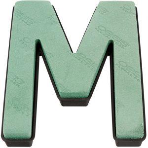 "Florist Sundries - ""M"" OASIS ® NAYLORBASE ® Quick Eco-Base Clip Letters"