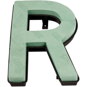 """Florist Sundries - """"R"""" OASIS ® NAYLORBASE ® Quick Eco-Base Clip Letters"""