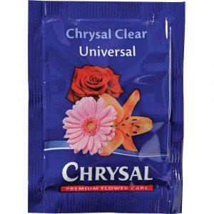 Florist Sundries and Craft Supplies - 0.5L Chrysal Clear Universal Flower Food Powder Sachet