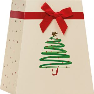 Trade Only Christmas Florist Sundries and Wholesale Supplies - Twinkling Christmas Tree Gift Box