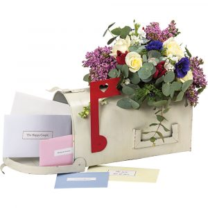 Florist Sundries and Wedding Supplies - Wedding Wishes American Style Post Box for Cards
