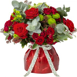 Trade Only Florist Sundries and Wholesale Supplies - Red Bloomie Aqua Box