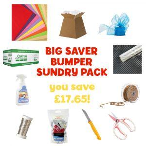 Florist Sundries and Craft Supplies - Big Saver Bumper Sundries Pack