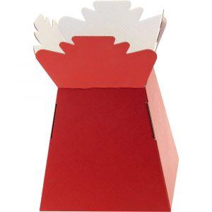 Florist Sundries & Craft Supplies - Red Living Vase Castillo Box