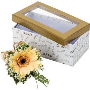 Florist Sundries and Wedding Supplies - Luxury Corsage Presentation Gift Box