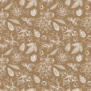 Trade Only Christmas Florist Sundries and Wholesale Supplies - Winter Woodland Kraft Paper