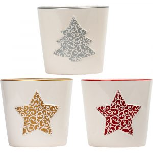 Trade Only Christmas Florist Sundries and Wholesale Supplies - Glad Tidings Ceramic Pots